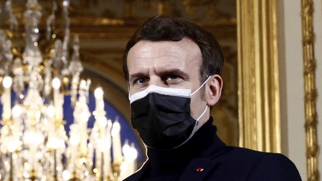 Den franske presidenten, Emmanuel Macron.