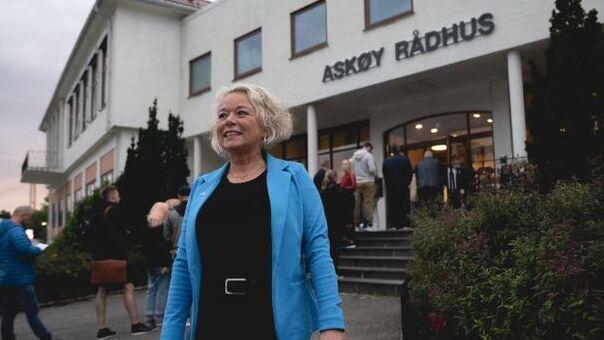 NY ORDFØRER: Siv Høgtun (H) får ordførervervet i Askøy kommune