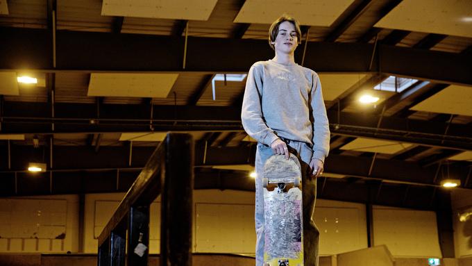 SKATETALENT: Elias Heitmann fra Bergen vant prestisjetung konkurranse i Paris i helgen. Her i Fysakhallen for ett år siden.