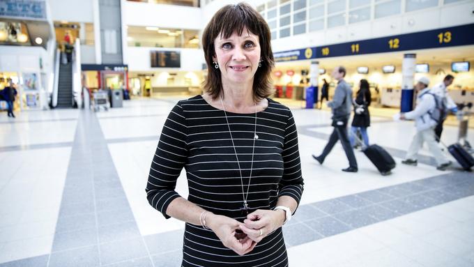 FÅR MINDRE LØNN: Jenny Følling (Sp), varaordfører i Sunnfjord kommune.