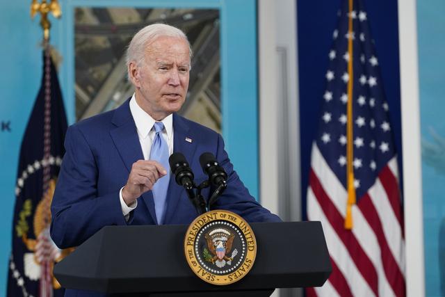 USAs president Joe Biden skal møte Kenyas president Uhuru Kenyatta i Det hvite hus torsdag. Arkivfoto: Susan Walsh / AP / NTB