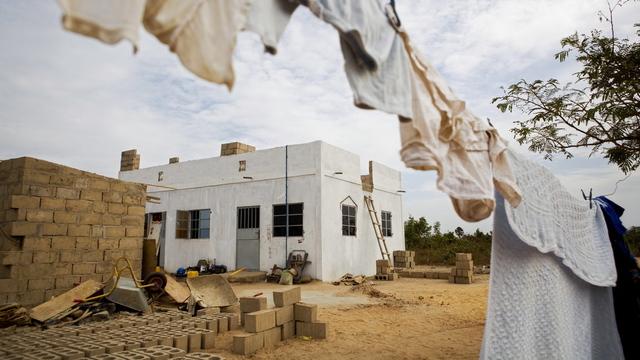I denne tomannsboligen utenfor Gambias hovedstad Banjul, bodde mannen fra Telemark da han ble pågrepet av gambisk politi i 2010.
