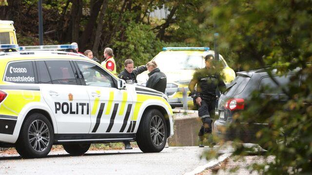 Politiet rykket ut til en knivstikking fredag ettermiddag. Offeret døde.