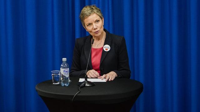 President Marit Hermansen i legeforeningen.