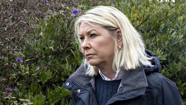 Justisminister Monica Mæland (H) skal redegjøre for Bergen Engines-salget 23. mars.