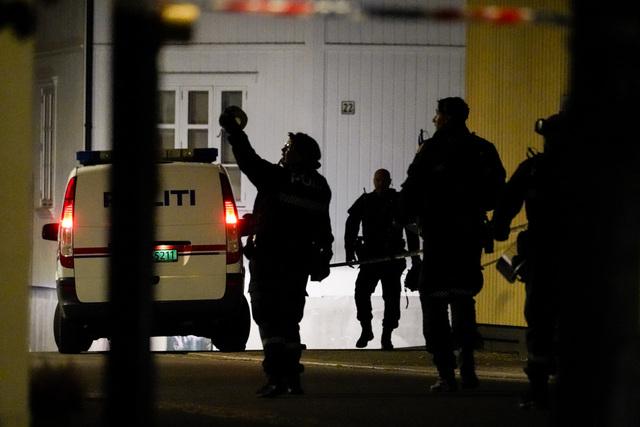 Uttalelser som den siktede etter Kongsberg-drapene kom med i forbindelse med pågripelsen førte til at PST mente hendelsen framsto som en terrorhandling. Foto: Håkon Mosvold Larsen / NTB