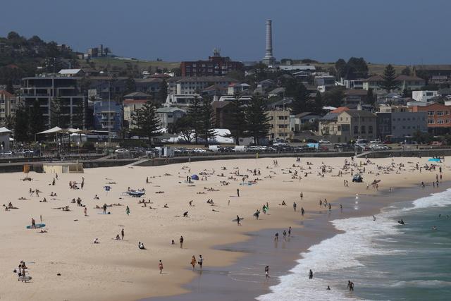 Det siste utbruddet startet rundt Sydneys berømte Bondi Beach.