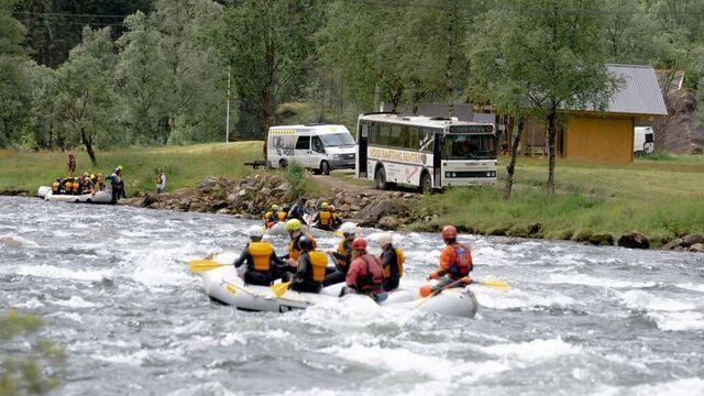 Voss Rafting fikk godt med påmeldinger av norske turister i sommer.