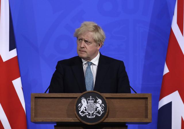 Storbritannias statsminister Boris Johnson. Foto: AP / NTB