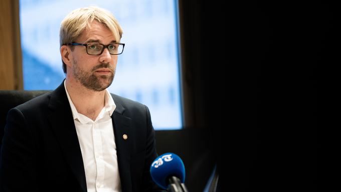 BYRÅDSLEDER: Roger Valhammer.