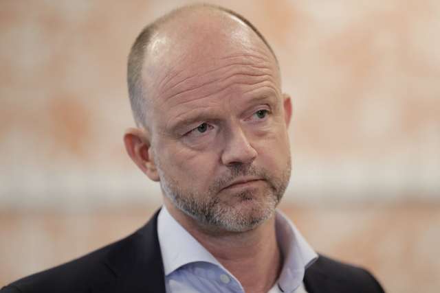NHO-sjef Ole Erik Almlid er glad for at samfunnet nå gjenåpnes. Foto: Berit Roald / NTB