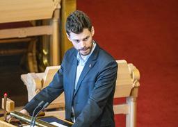 Rødt-leder Bjørnar Moxnes. Foto: Gorm Kallestad / NTB