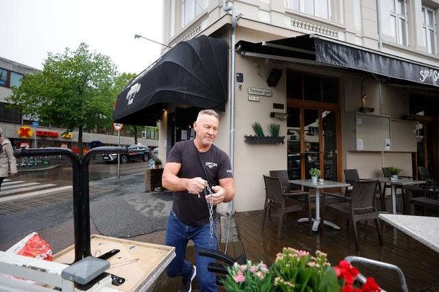 Daglig leder Geir Pettersborg låser opp etter mange nedstengte måneder.