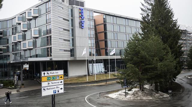 Park Inn by Radisson Oslo Airport er et av karantenehotellene ved Gardermoen.