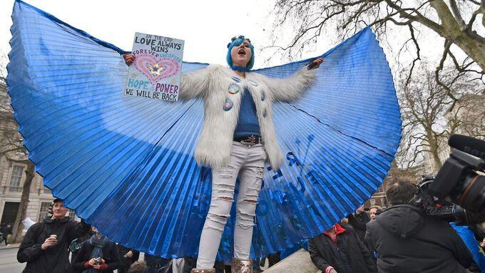Denne aktivisten tror at britene kommer til å vende tilbake til EU.