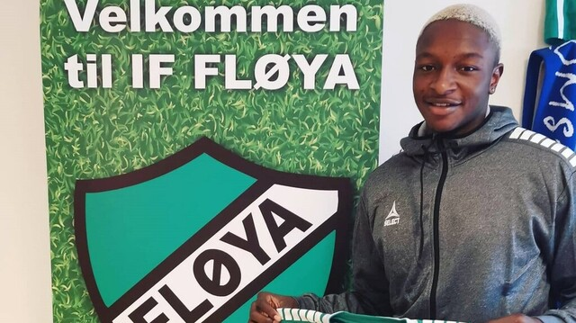 SIGNERT: Abou David Mendy er klar for Fløya.