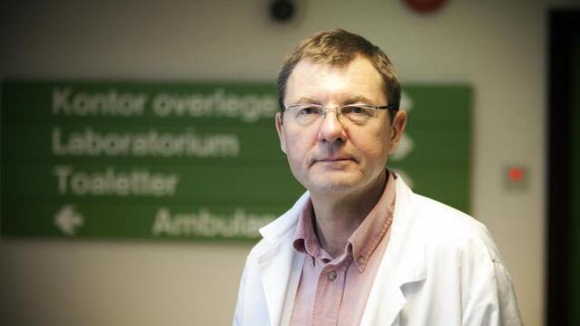 Frank van Betten har tidligere vært legevaktsjef i Bergen.