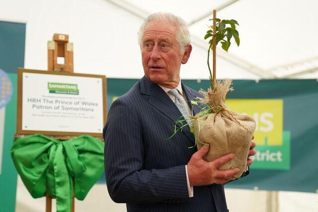 Storbritannias prins Charles skal holde åpningstalen på COP26 i Glasgow. Foto: Jacob King/PA via AP/NTB