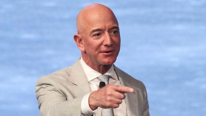 Amazon-grunnlegger Jeff Bezos har gode dager under koronapandemien.