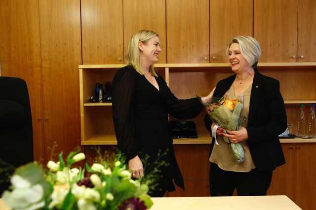 Tina Bru er nå ferdig som olje- og energiminister. Nå er det Persen sin tur.