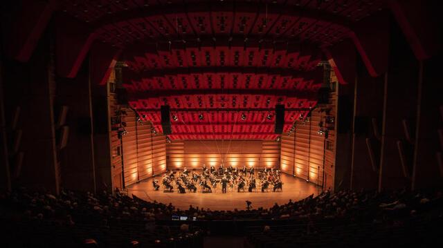 Det er påvist koronasmitte blant tre personer som medvirker til produksjonen av operaen «Macbeth». Operaen vil nå få et annet format enn planlagt. Bildet er fra en annen konsert i oktober.