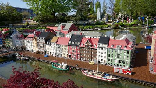 Legoland i Billund i Danmark er ett av stedene i Danmark som har skiftet farge fra oransje til grønt på EUs oppdaterte smittekart.