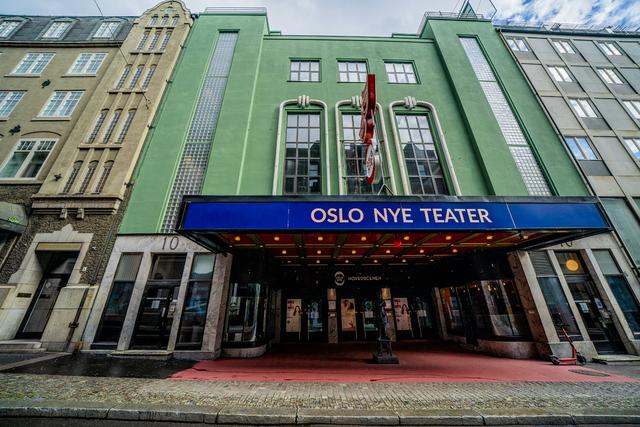 Ansatte ved Oslo Nye Teater er blant dem som tas ut i streik fra onsdag i neste uke. Foto: Stian Lysberg Solum / NTB