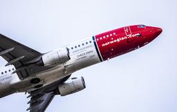 Norwegians passasjertall var høyere i april 2021 enn i april 2020. Foto: Ole Berg-Rusten / NTB