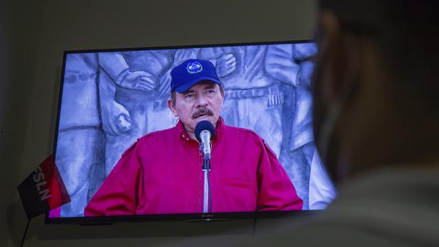 President Daniel Ortega anklager motstandere for å være kriminelle og agenter for USA.