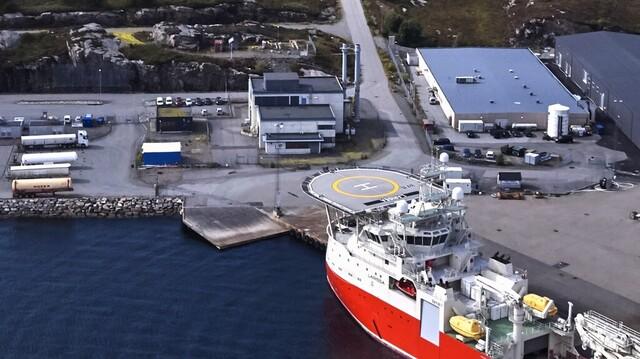 Energiparken på Kollsnes.