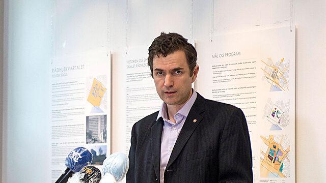 Skolebyråd Endre Tvinnereim er smittet av korona.