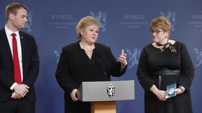 STABILITET: Statsminister Erna Solberg håpar dagens regjering vil halde til valet.