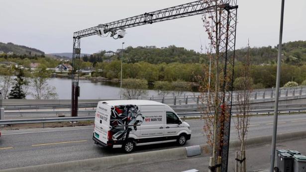 RIVES: Denne bomstasjonen på Nyborg er blant de to som kan bli fjernet.