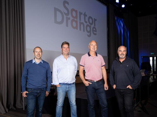 Arild Bøthun (frå v.), Rune Grimstad, Jan Drange og Kåre Bjorøy.