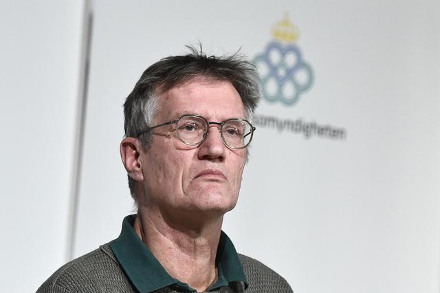 Sveriges koronageneral, statsepidemiolog Anders Tegnell.  Foto: Claudio Bresciani/TT / NTB