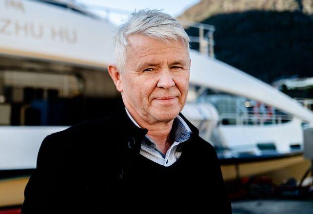 Tor Øyvin Aa er andregenerasjons Aa, og leder for båtbyggeriet i Hyen.