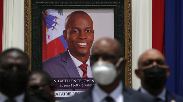 Haitis president Jovenel Moïse ble 7. juli drept i sitt eget hjem, mens hans kone Martine Moïse ble alvorlig skadd i attentatet. Arkivfoto: Joseph Odelyn / AP / NTB