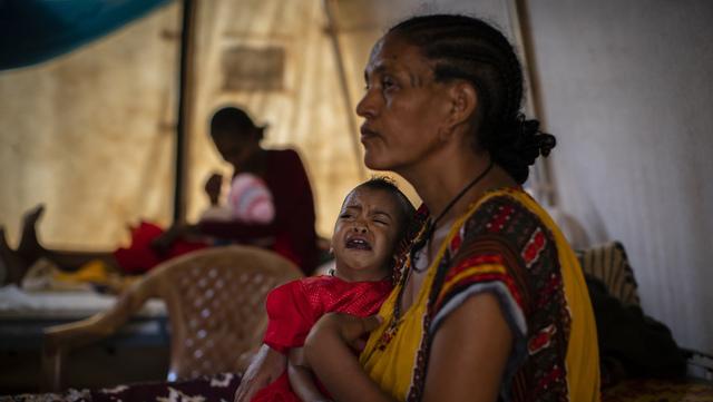 Millioner av mennesker trenger matvarehjelp i Etiopias Tigray-region, og FN er ekstremt bekymret over situasjonen der.