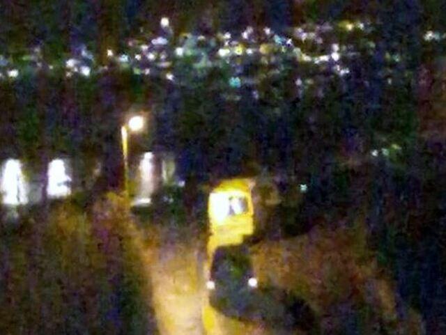 Både politi og ambulanse rykket ut til åstedet på Nattlandsfjellet torsdag kveld.