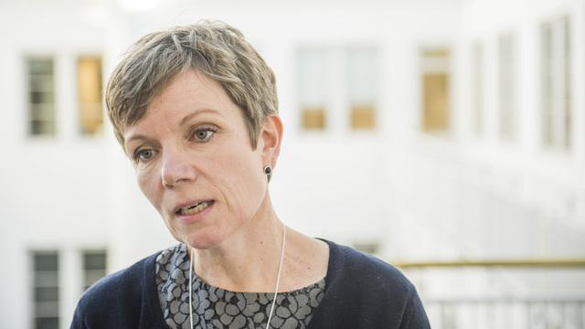 President Marit Hermansen i Den norske legeforeningen mener kjennelsen fra Rikslønnsnemnda er alvorlig.