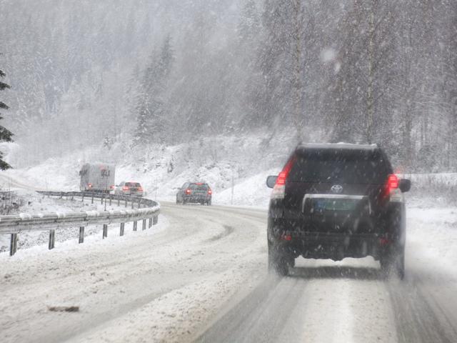 Fra torsdag ettermiddag kan det bli snøfokk i fjellet i Sør-Norge. Illustrasjonsfoto: Paul Kleiven / NTB