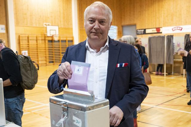 Demokratenes førstekandidat i Kristiansand, Vidar Kleppe. Foto: Tor Erik Schrøder / NTB