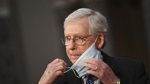 Republikaneren Mitch McConnell leder Senatet