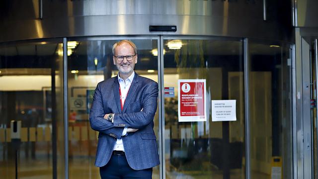 Espen Opedal er sjef for den norske virksomheten til Tryg, som har hovedkontor i Fyllingsdalen i Bergen.