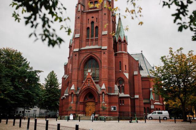 Johanneskirken er en av kirkene som tilbyr drop-in-dåp 23. oktober.
