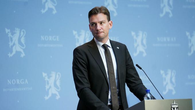 Utdanningsminister Henrik Asheim.