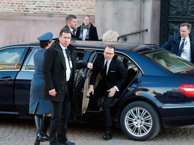 Prins Daniel av Sverige kom sammen med prinsesse Laurentien av Nederland