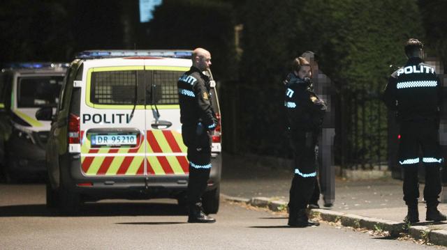 Politiet kontrollerte flere personer i nærheten av åstedet for det sister ranet, ved Borgen T-banestasjon, men det er uklart om noen av dem er mistenkt i saken.