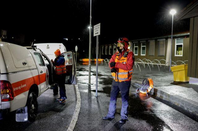 Fredag kveld pågår en leteaksjon på Landro i Øygarden.
