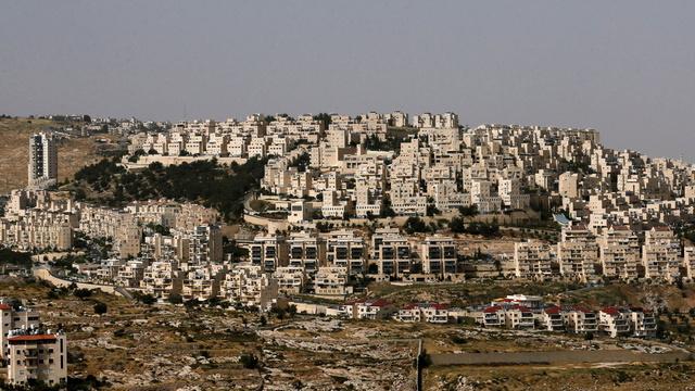 Den israelske bosetningen Har Home på palestinske Vestbredden i 2020.